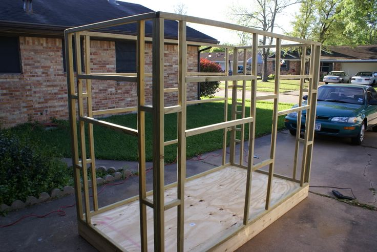 Homemade Deer Blinds | Modular 4x6 Blind - Texas Hunting Forum