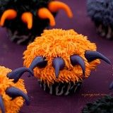 Drapieżne babeczki na Halloween
