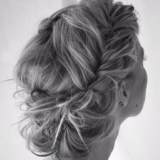 This hair for prom ? (: