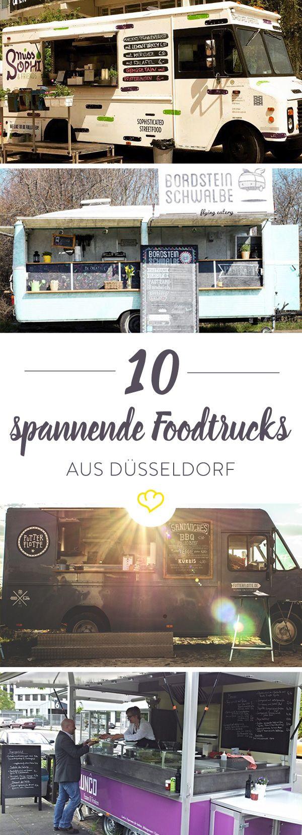 Heute Pastrami oder lieber Pulled Pork? Wir haben für dich unsere 10 Lieblings-Foodtrucks aus Düsseldorf mit Standortinfos im Überblick.