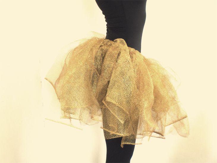 DIY : tuto jupe tutu en 10 minutes / super facile