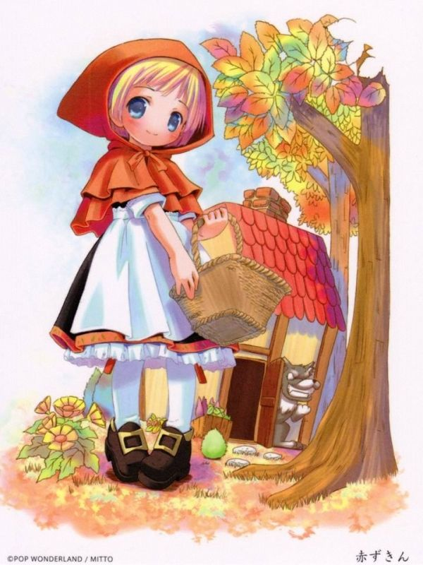 21 best old anime images on pinterest dulce candy little red and character co little red riding hood sciox Choice Image