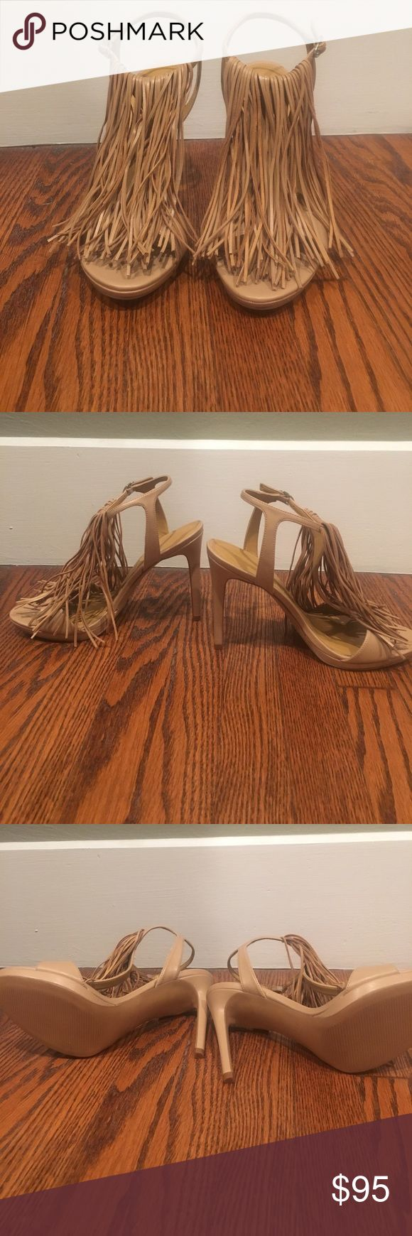 NWOT Kendall and Kylie Fringe Heels Brand new without tags. Never been worn! 4.5 inch heel. Kendall & Kylie Shoes Heels