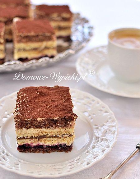 Ciasto krówkowo- kakaowe