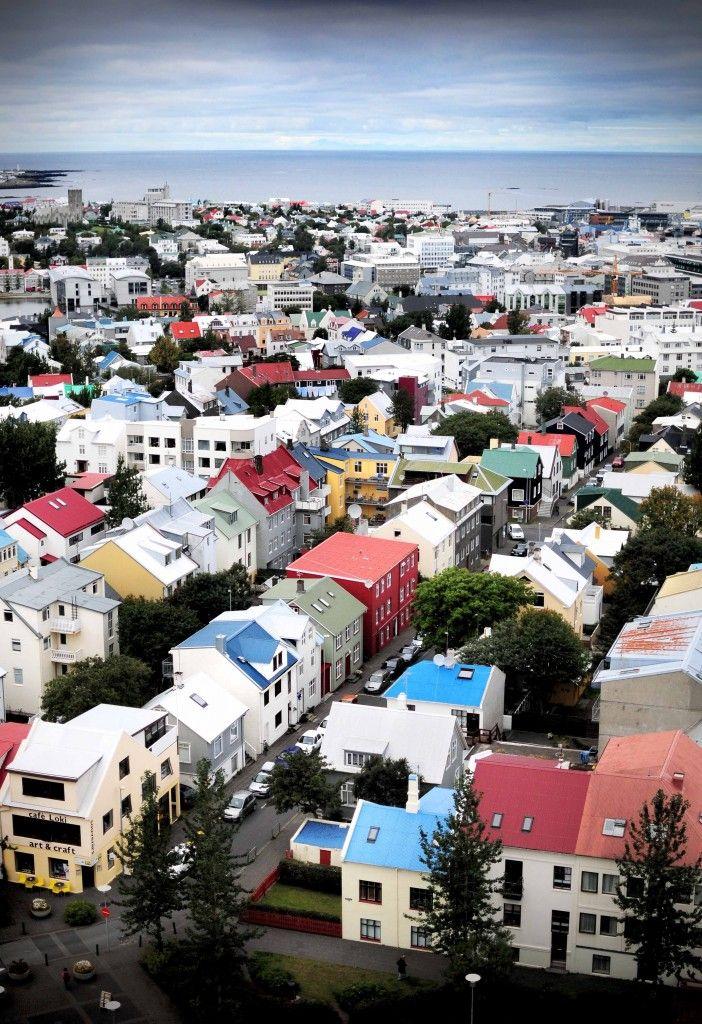 Reykjavik, Iceland - 90% of the population believes in elves >>> I love that!