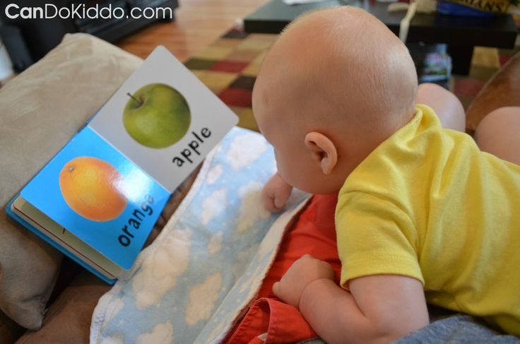 4 to 5 month Tummy Time and Rolling. Tips and activities for babies who roll out of Tummy Time. CanDo Kiddo