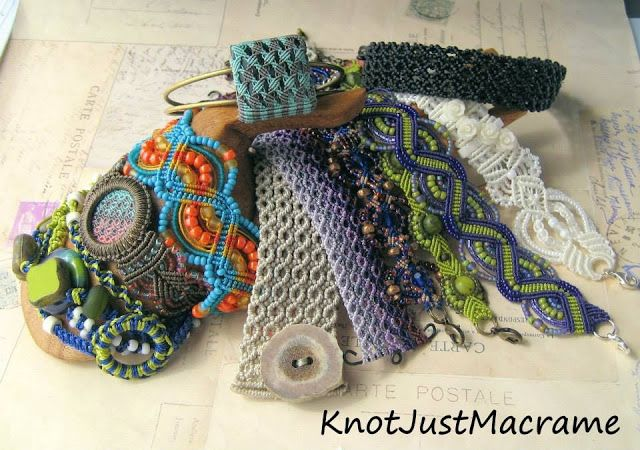 Knot Just Macrame by Sherri Stokey: Micro Macrame Tutorials and Classes - Where the He...