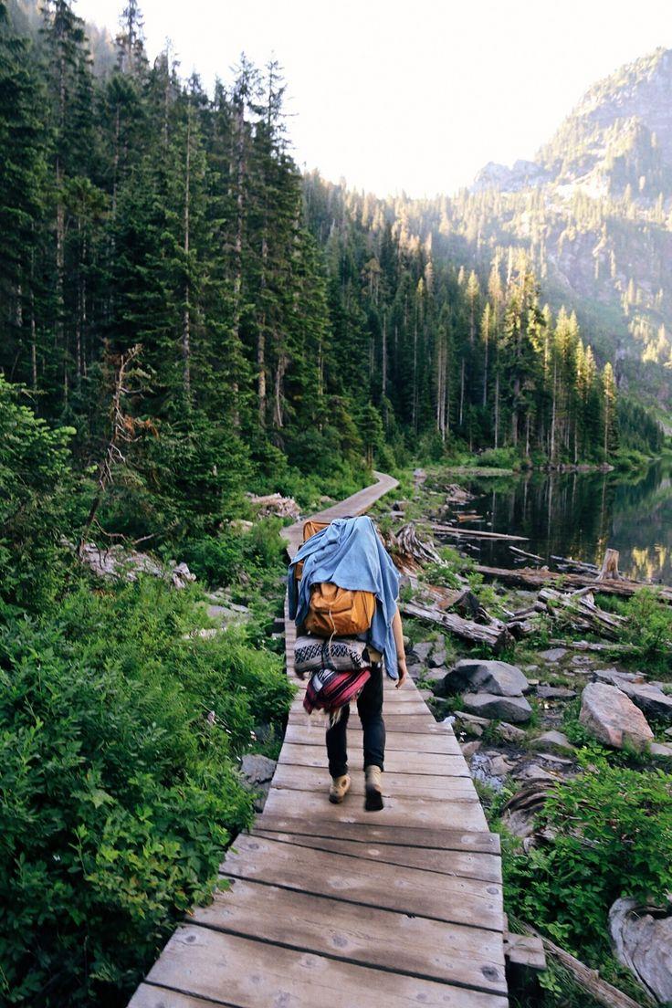 Jede freie Minute zum Wandern nutzen.