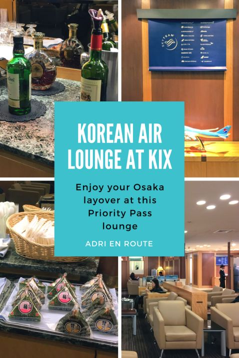 Osaka Airport Lounge Review: Korean Air Lounge at KIX | Adri En Route