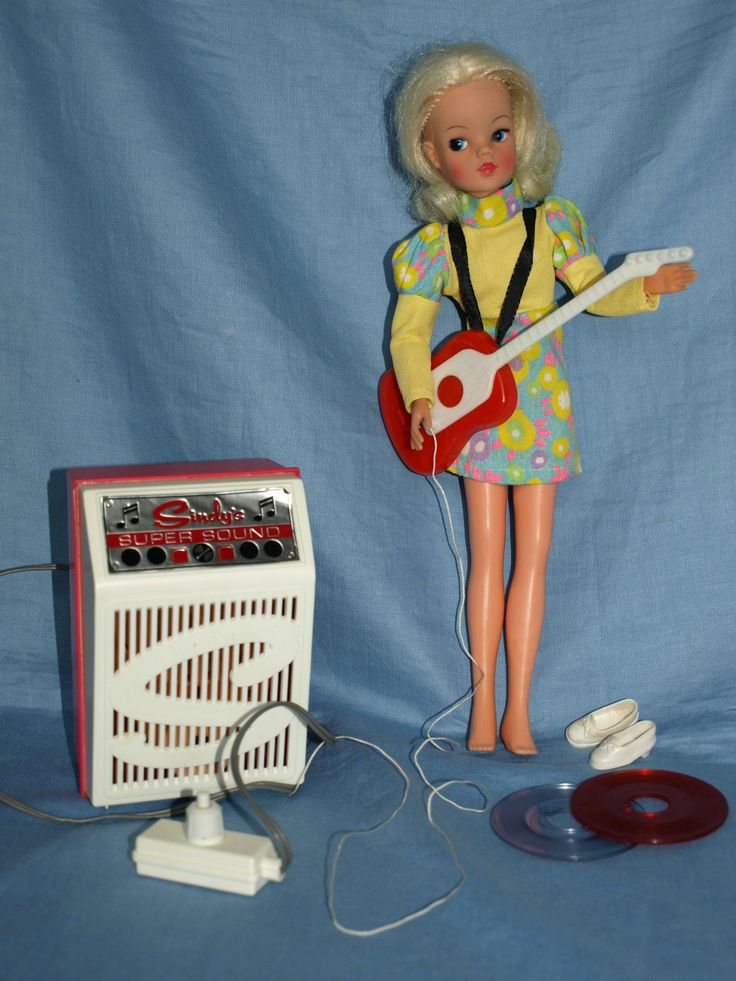 Vintage 1970s Pedigree Sindy Supersound boxed with Sindy gauntlet doll very rare | eBay