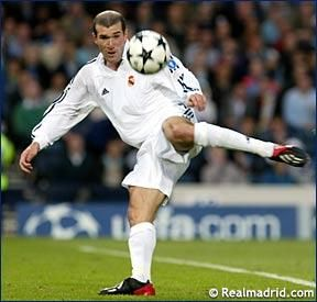 After recently reading a blurb called Fallen from the Sky, I was reminded about one of the greatest goals ever made by Zidane in 2002.   A left footed, split second decision kick made the winning goal. The timing, connection, strength that this took is crazy to think about.