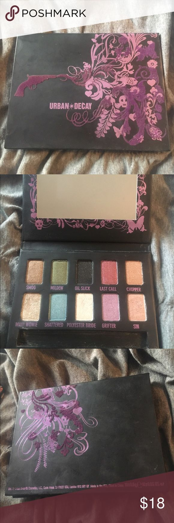 Urban Decay Ammo Shadow Palette Very lightly used palette. No trades. Urban Decay Makeup Eyeshadow