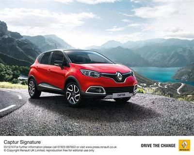TRENDING Renault Adds dCí 110 Engine to Captur