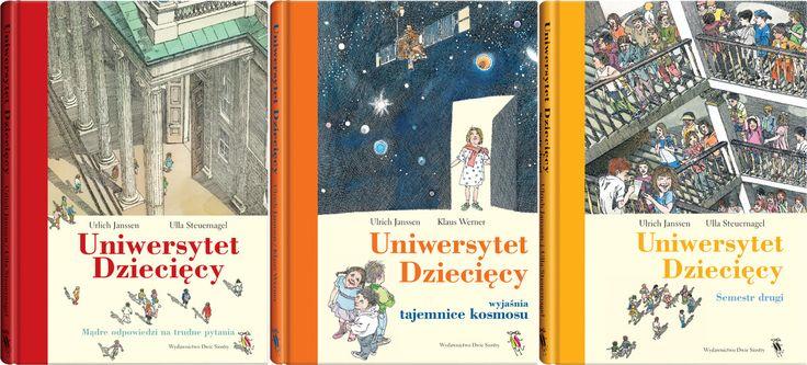 Zestaw: Uniwersytet Dziecięcy - Wydawnictwo Dwie Siostry
