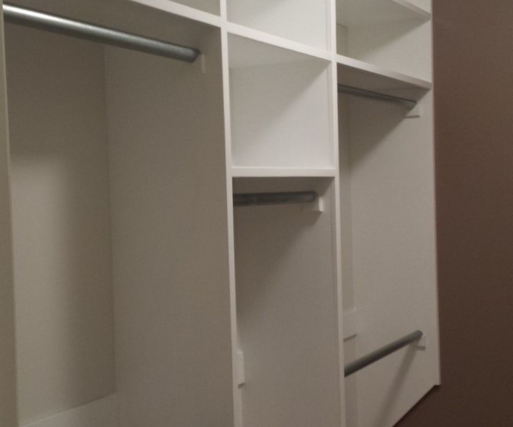Our master walk-in closet was all white wire shelves. It's not only lack of space for hanging cloth, but also lack of storage we really need. So we ...