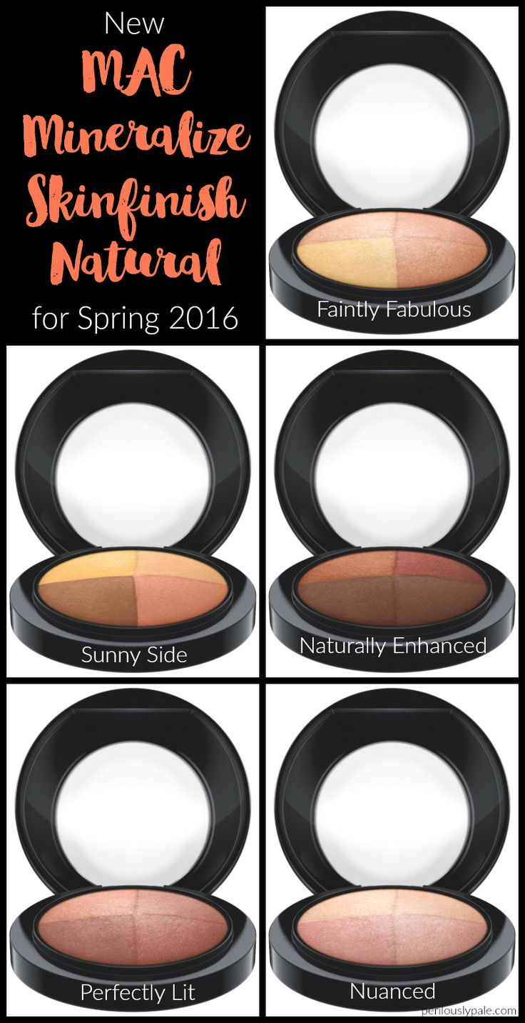 MAC Cosmetics Mineralize Skinfinish Natural for Spring 2016 #makeup #beauty #mac