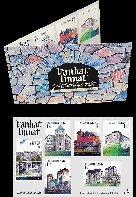 Old Castles issued by Finland Post! #finland #castles #stamps #stampbooklet http://wopa-stamps.com/index.php?controller=country&action=stampProduct&id=12708