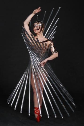 World of Wearable art winner from 2011  Reflection, Erna & Karl Van Der Wat, Auckland  #AirNZWOW