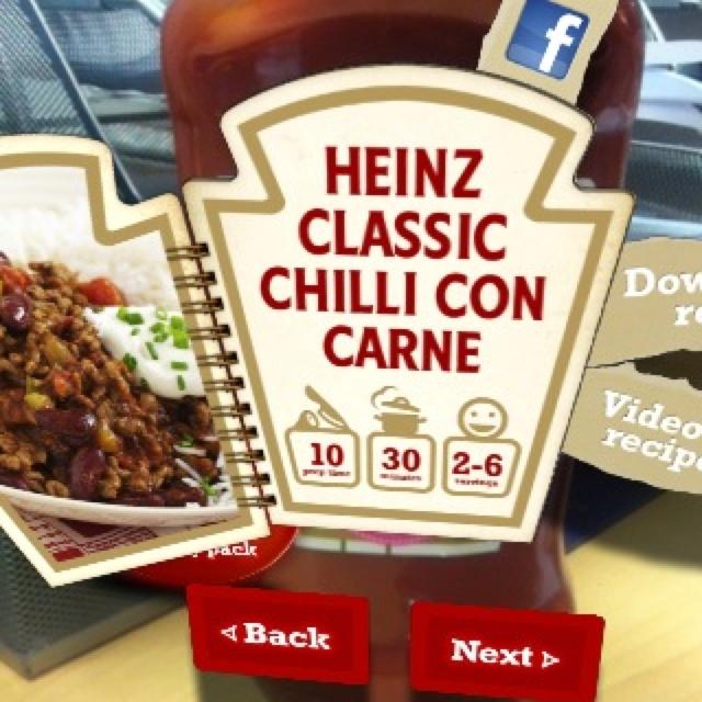 Augmented reality - Blippar ketchup
