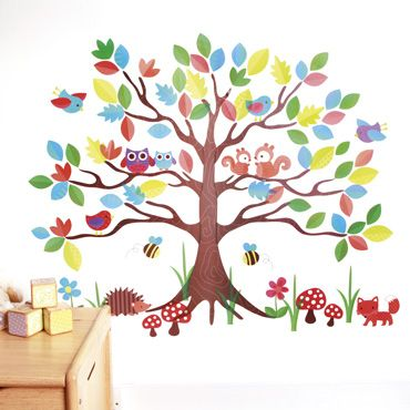 High Quality Woodland Tree Wall Stickers, Room Decorations And Pictures, Nursery Ideas