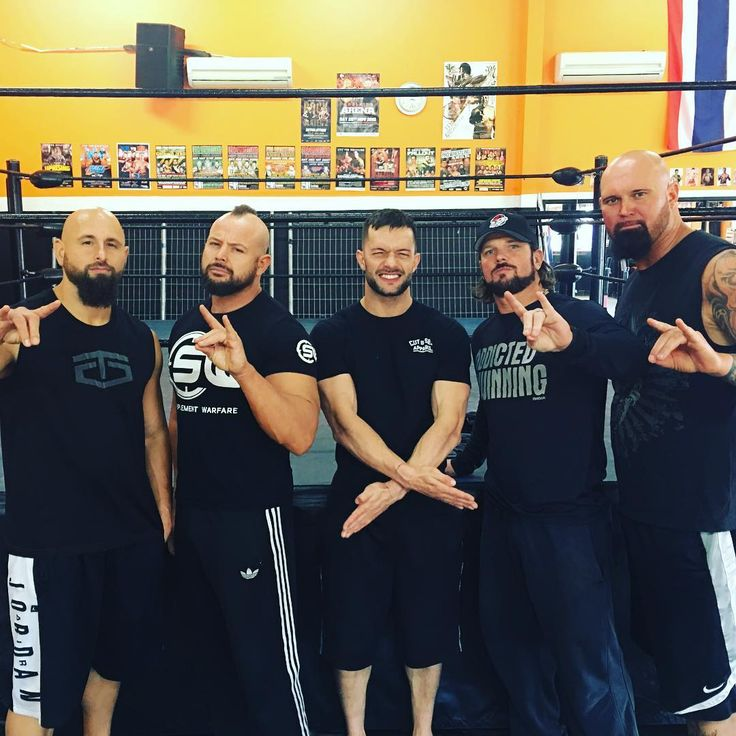 Finn Balor posted the photo below on his Instagram of himself with fellow Bullet…