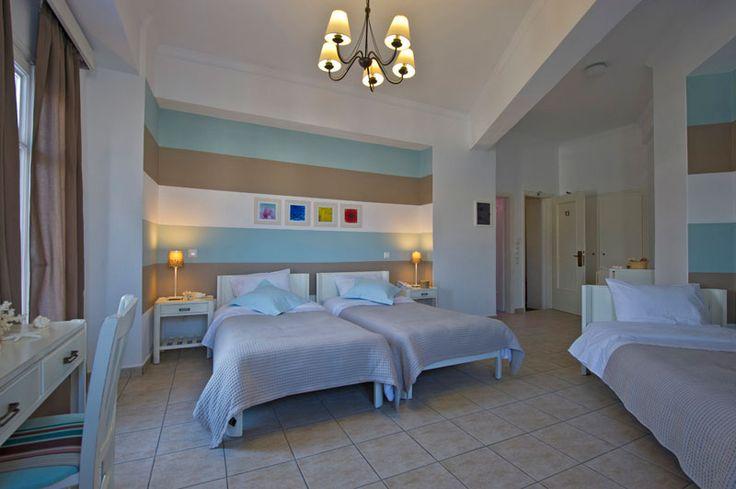 Triple Room - Oasis Hotel #Paros #Greece - Paros Hotels