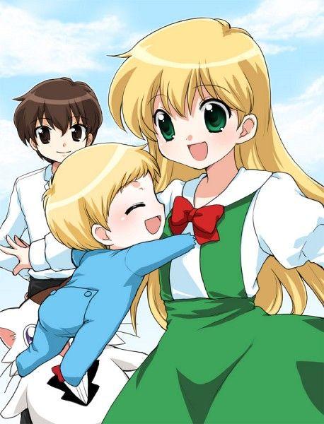 Tags: Anime, Baby, Little Boy, Mani, Daa! Daa! Daa!, Ruu (Daa! Daa! Daa!), Saionji Kanata