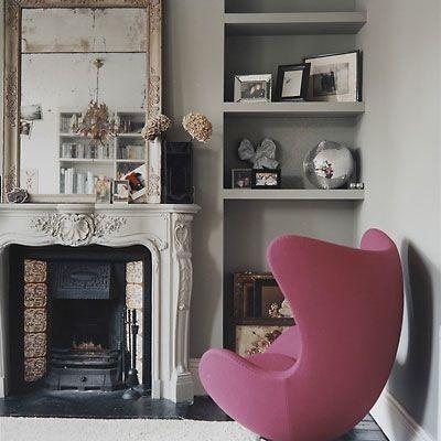 Pink Egg Chair U003c3