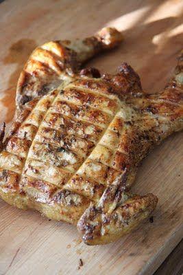 SILLÄ SIPULI: Paholaisen grillattu kana eli Pollo alla diavolo