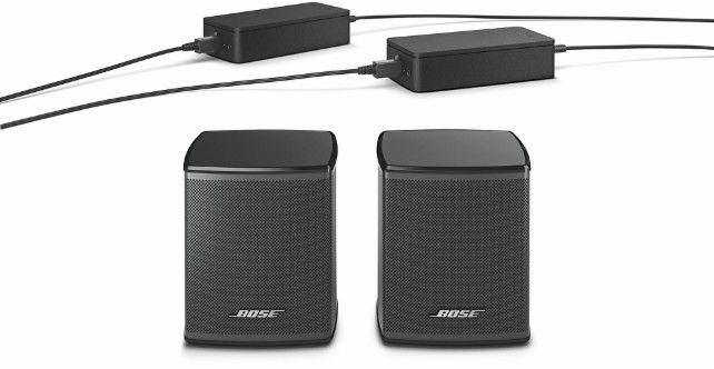 Bose® - Virtually Invisible® 300 wireless surround speakers - Black - AlternateView12 Zoom