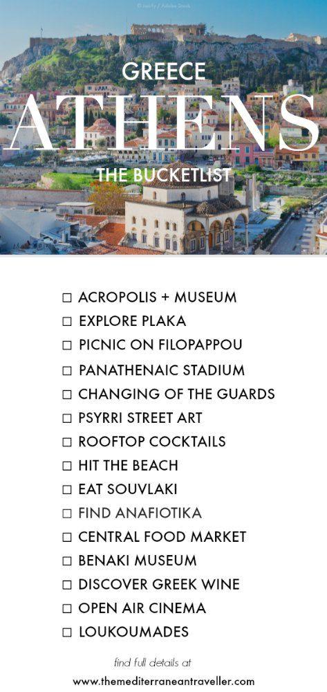 15 Unique Experiences For Your Athens Bucketlist