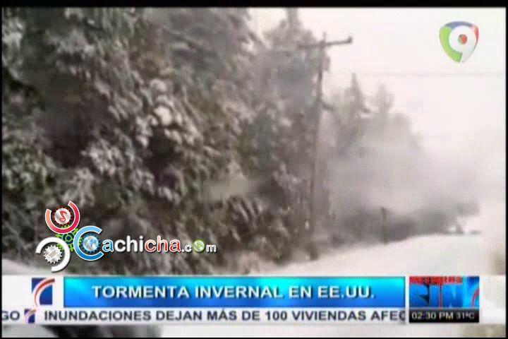 Primera Tormenta Invernal En EEUU De La Temporada Y Otras Internacionales #Video