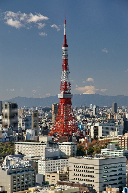 Tokyo Tower & Mt. Fuji, Been to both of these great monuments