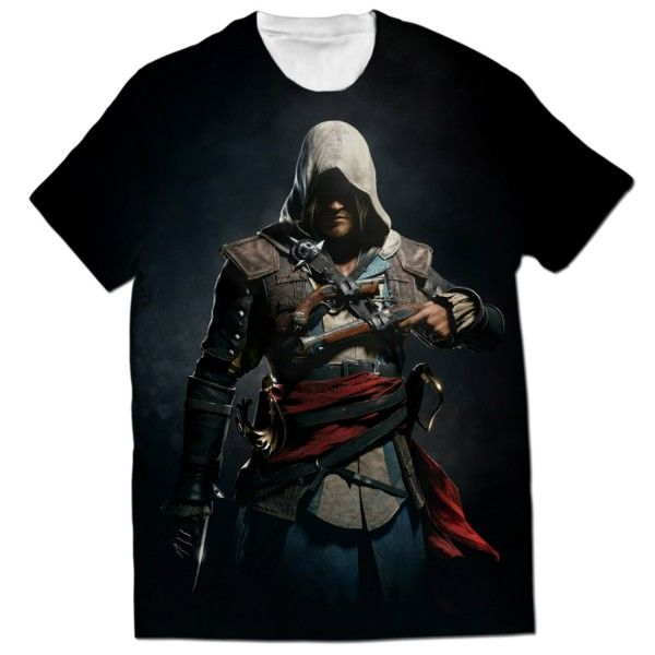 ASSASSINS CREED EDWARD KENWAY ALL OVER PRINTED T-SHIRT Visit: http://www.thewarehouse.pk/assassins-creed-edward-kenway-all-over-printed-t-shirt-14508