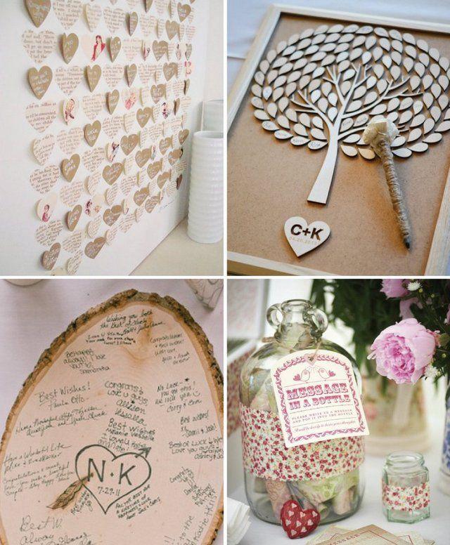 Creative Guest Book Ideas For Wedding
