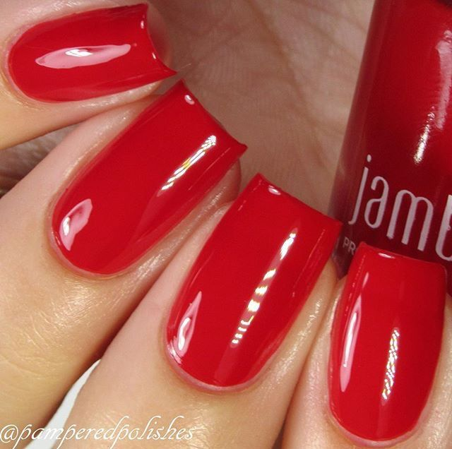 Jamberrry Cardinal lacquer by Pampered Polish