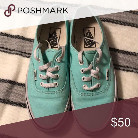 Teal Vans Teal Vans Vans Shoes Sneakers