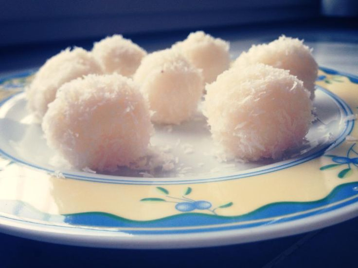 Healthy sugar free, gluten free and dairy free coconut balls  So yummy when your craving something sweet  Ingredients: 1 cup shredded coconut 1 tbs agave syrup (or any sweetener) 1.5 tbs coconut milk (or almond milk) 2 tbs coconut butter (I got mine from health food store) 1 tbs coconut oil  https://www.facebook.com/permalink.php?story_fbid=324000791135030&id=320132234855219&notif_t=like