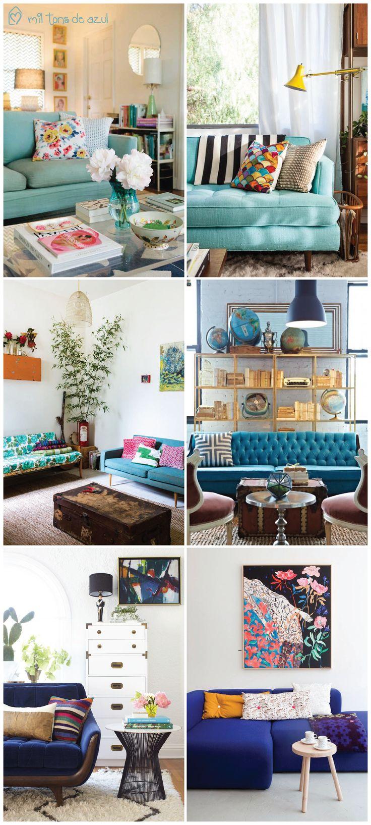 Sofá colorido: adere ou deixa passar!