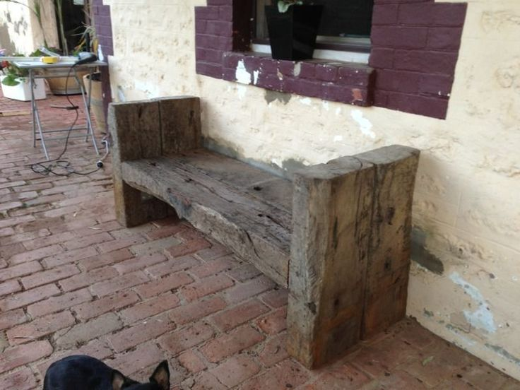 diy sleeper bench