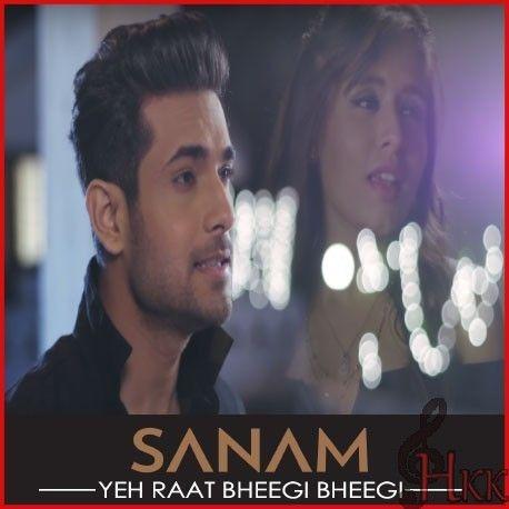 Best Quality Hindi Karaoke Track: Yeh Raat Bheegi Bheegi - Sanam Acoustic Karaoke Yeh Raat Bheegi Bheegi