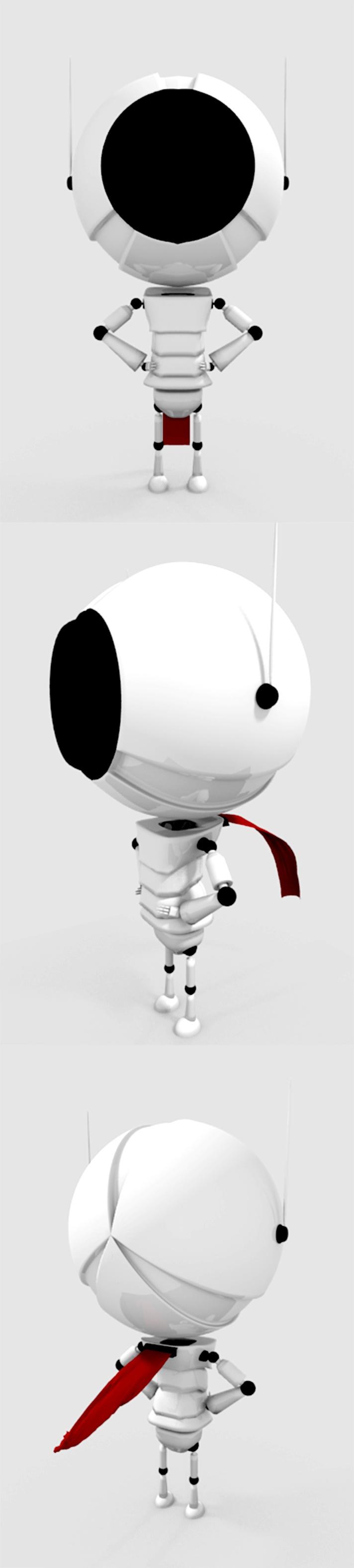 bobots #3d #blender #character #robot #mech
