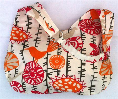 Ladies Handbag Hobo Purse Bird Design by Boonlell Bags http://madeit.com.au/Main/Item?itemId=931914
