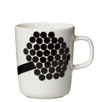 Marimekko's Oiva - Hortensie mug, 2,5 dl