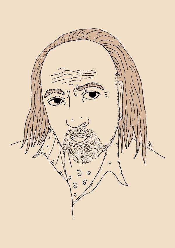 Manny Bianco - Here Lives Amanda // Illustration Sketch Book - Black Books