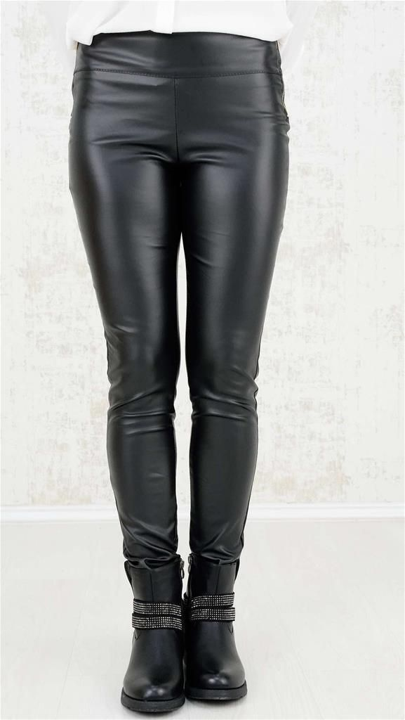 Δερμάτινο παντελόνι | Χειμερινή Collection 2016 | Potre - 19,9 €