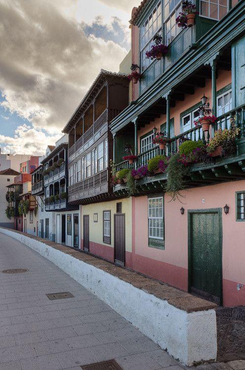 Houses of Santa Cruz de La Palma, Canary Islands | Spain