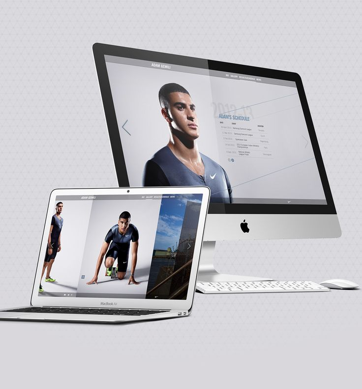 Proposal for the website of Adam Gemili, one of the most exciting prospects in Track & Field athletics in Great Britain today.