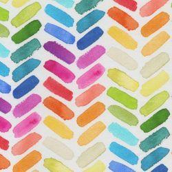 <b>Kolor: kolorowa jodełka na białym tle