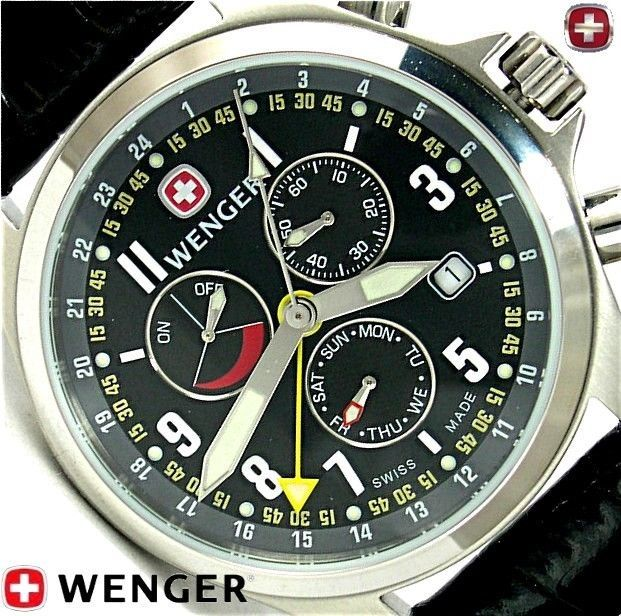 Wenger Swiss Army Knife Mens Terragraph Alarm Power